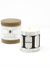 Blithe & Bonny Hyacinth Heliotrope Scented Candle