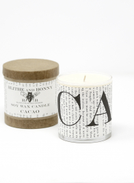 Blithe & Bonny Cacao Scented Candle