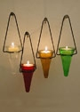 Cone Tea Light Holders