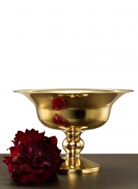 10in Polished Brass Urn