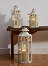 Antique White Lanterns