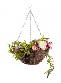 16in & 18in Hanging Willow Baskets