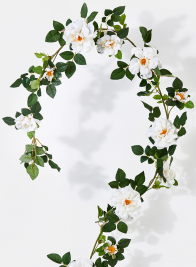 78in Cream Rose Garland