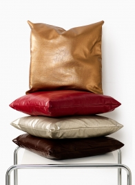 PU-Leather Pillows