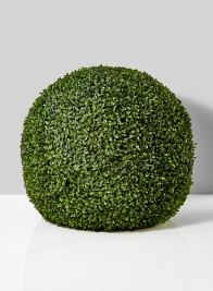 Large Faux Boxwood Balls