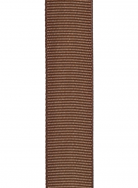 brown grosgrain polyester ribbon