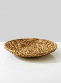 large hyacinth natural look shallow fruit bowl