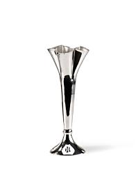 5in Silver Mini Trumpet Vase