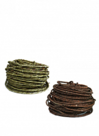 OASIS Green & Brown Rustic Wire
