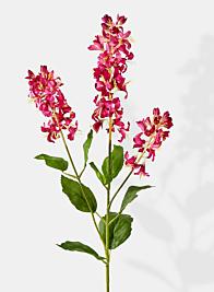 pink silk flowers