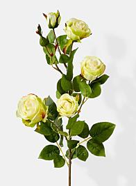 cream hui silk rose spray permanent botanicals