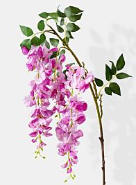 pink purple wisteria silk flowers