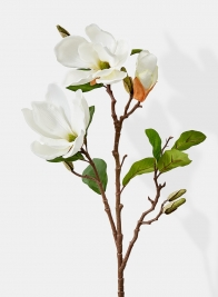 white magnolia spray southern wedding flowers