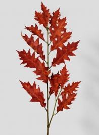 41in Red Oak  Leaf Branch