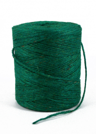 3-Ply Green Natural Jute Twine