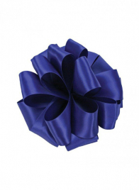 5/8in Royal Blue Double Face Satin Ribbon