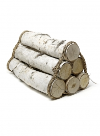 18 1/2in Firewood Bundle, Set of 6