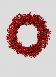 20in Red Berries Wreath