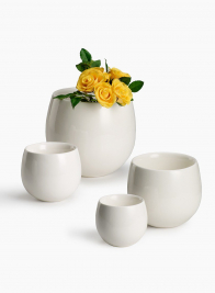 Ceramic Bowl Vases
