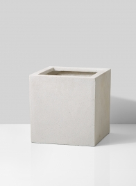 square modern lightweight planter