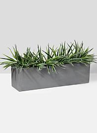 27 1/2in Grey Fiberstone Window Box