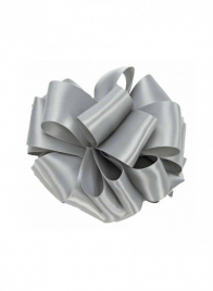 1 1/2in Silver DFS Ribbon