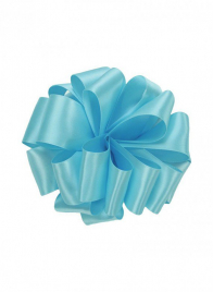 5/8in Ocean Blue Double Face Satin Ribbon