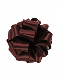 5/8in Burgundy Double Face Satin Ribbon