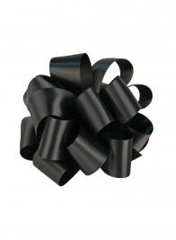 3/8in Black DFS Ribbon
