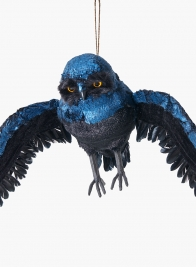 28in Black & Blue Owl