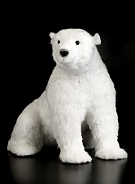 24in White Polar Bear