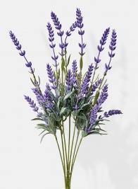 artificial lavender spray silk flowers