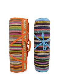 6ft straw beach mat VAN00902-2000