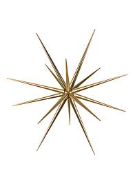 Gold Starburst Ornament