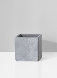4in Cement Cube Vase