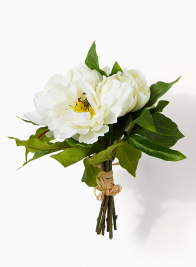Cream Peony Flower Bunch