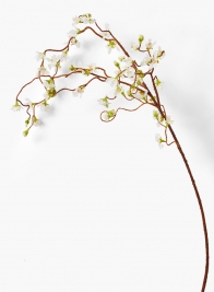 44in Cream Cherry Blossom Weeping Branch