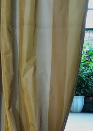 42x102 Wide Stripe Curtain Panel