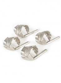 Silver Napkin Ring, Set of 4