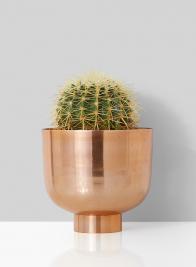 8 1/4in Copper Compote