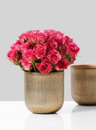 3 1/2in Gold Vase