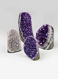 Small, Medium, Large Polished Amethyst Geode Stones