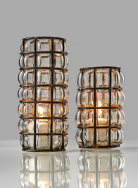 6in & 8in Blown Glass Cylinders