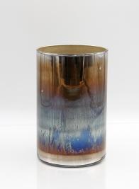 glass ombre cylinder vase