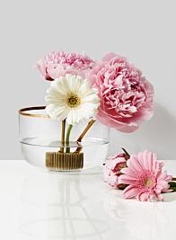 pink peony wedding centerpiece arrangement
