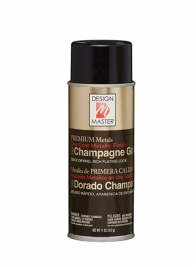 Design Master Metallic Champagne Gold Spray Paint #0242