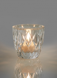 2 1/2in Crystal Tea Light Holder