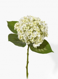 19in White Hydrangea
