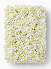 White Hydrangea Flower Block