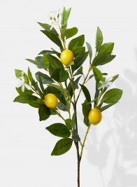 large fake lemon tree pick